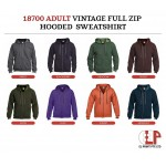 Gildan Adult Vintage Full Zip Hoodie