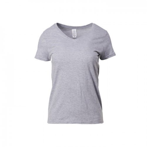 Gildan Ladies  V Neck T-Shirt