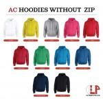 El Print Hoodie Without Zip