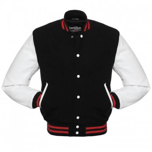 El Print Varsity Jacket