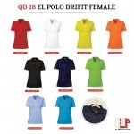 El Print Dry Fit Polo (Female)
