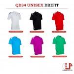 QD34 Unisex Dry Fit