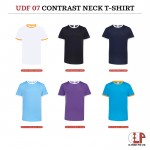 Ultifresh contrast side panel crew neck t-shirt