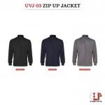 Ultifresh full moon zip up jacket