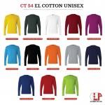 Cotton Unisex Long Sleeve